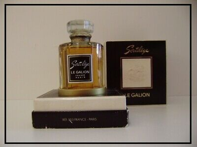 "VINTAGE : Factice ""EAU DE PARFUM - SORTILEGE"" 60ml par ""LE GALION - PARIS"""