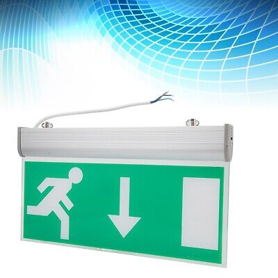 Acrylic LED Emergency Exit Sign Light Running Man Safety Signs Indicator Light