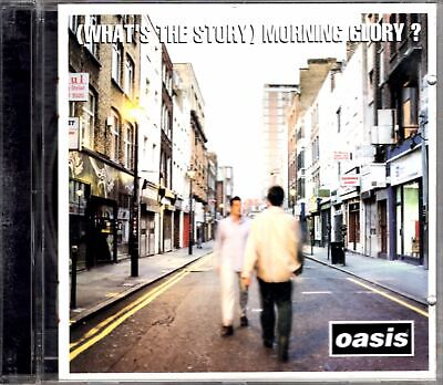 Oasis Whats The Story Morning Glory CD 1995 90s Alternative Rock
