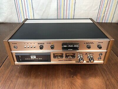 AKAI GXR-82D Professional 8 Track Player Tested Great Working Condition
