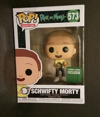 Funko Pop! Rick & Morty Schwifty #573 Barnes & Noble Exclusive