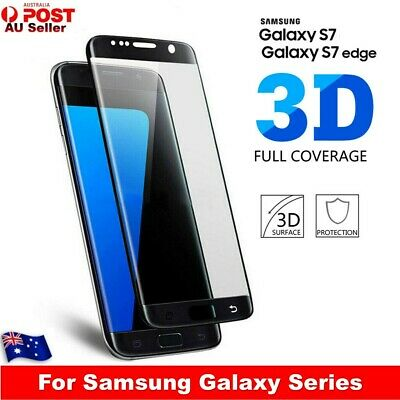 For Samsung Galaxy S7/ S7 edge Screen Protector Full Coverage 9H Tempered Glass