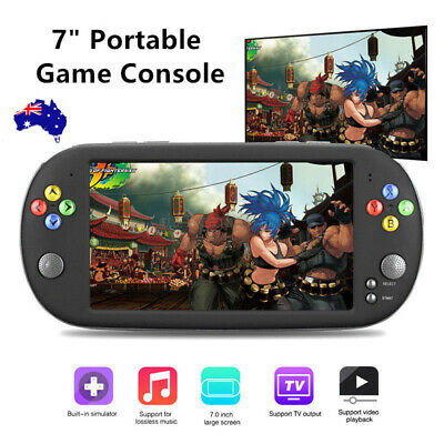 """7"""" PSP X16 Large Screen Handheld Game Console Retro Classic Video Game Players"""
