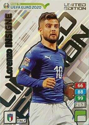Panini Adrenalyn XL Road To Uefa Euro 2020  Limited Edition Insigne