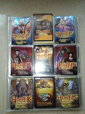 Huntik Legendary Saga Cards,