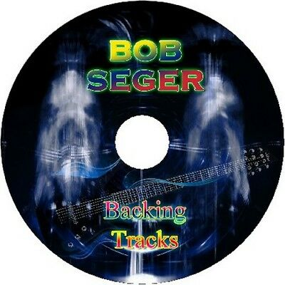 Bob Seger Rock Guitar Backing Tracks Cd Best Of Greatest Hits Music Play Along