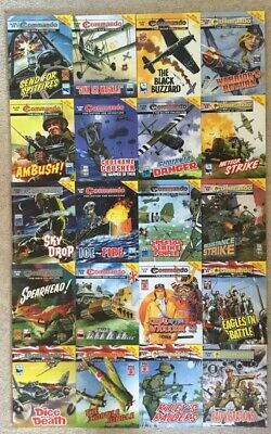 Commando comics 20 comic Collection Joblot (no.s 4632 - 4659) £2 Comics