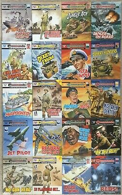 Commando comics 20 comic Collection Joblot (no.s 4730 - 4749) £2 Comics