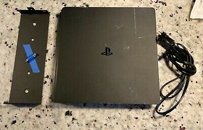 Sony PS4 Playstation 4 Slim 500GB HDD Matte Black Gaming Console ONLY