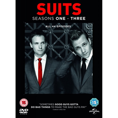 Suits season 1-3 dvd***NEW & SEALED*** BOX SET, COMPLETE SEASON 1-3 , GR8!
