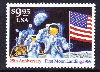 Scott 2842 $9.95 First Moon Landing Express Mail  MNH Single