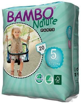 Bambo Nature Training PANTS Size 5 Junior 12-20kg - 20 Pack