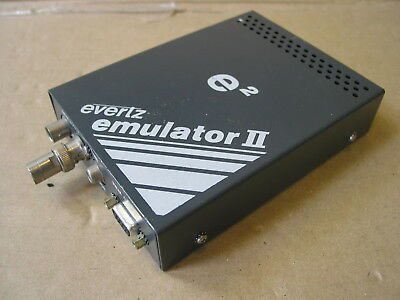 Evertz e2 Emulator II 7200 PL Video Broadcast Production Time Code Device TC