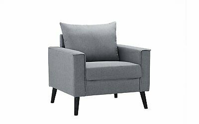 Sqaure Mid Century Modern Accent Chairs.Rustic Accent Chair Grey Smoke Linen Armchair Wood Modern Reclaimed