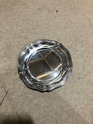 Decorative Silver Plated Small Plate/Coaster
