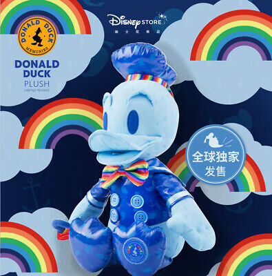 NWT Donald Duck Memories Plush toy august month Disney Store Limited 85 years