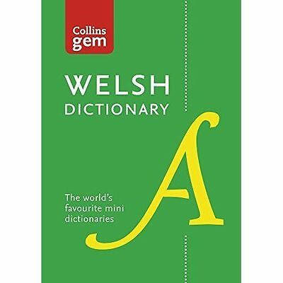 Collins Welsh Dictionary Gem Edition: Trusted support for learning, in a...