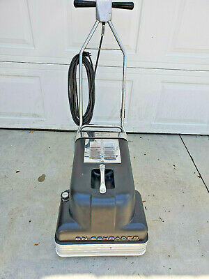 Vintage VON SCHRADER Carpet Deterger - Model B - Tested and Does Work