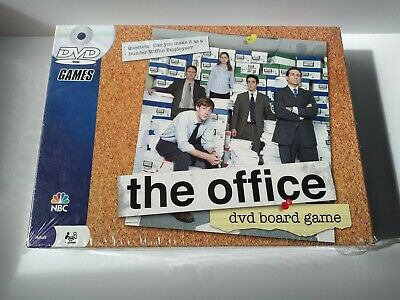 The Office DVD Board Game Trivia Dunder Mifflin Pressman 2008 NBC , Adult 2-6 pl