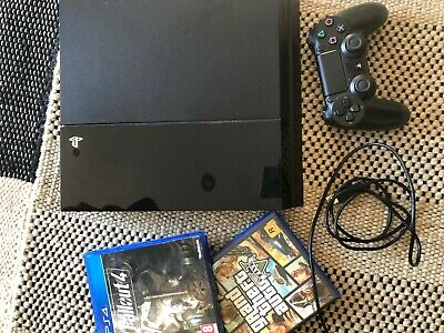 Sony PlayStation 4 500gb Console PS4 + GTA5 and Fallout 4