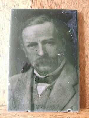 George Cartlidge Portrait Picture Tile by J.H. Barratt - DAVID LLOYD GEORGE