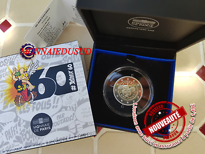 2 Euro CC BE France 2019 - 60 Ans d'Astérix Proof