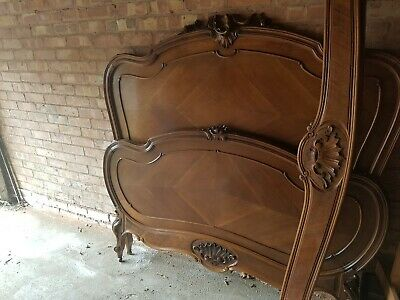 Antique Louis VX French Double Bed With Stunning Detail