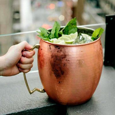 Copper Plated 5L Giant Mug Moscow Mule Ice Bucket Big Cup Bar Drinkware Colder