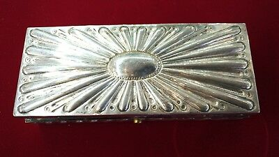 Antique Sterling JB James Beebe London Box 1890 England
