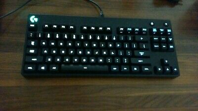 Logitech G Pro Tenkeyless Mechanical Gaming Keyboard with Cord Excellent