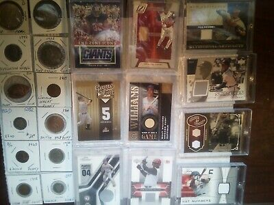 Junk Drawer LOT Vintage -BALLCARDS (OLD SCHOOL ) U S COINS