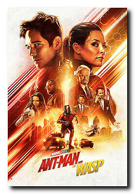 Ant Man and The Wasp Movie Poster 24x36 Inch Wall Art Portrait Print