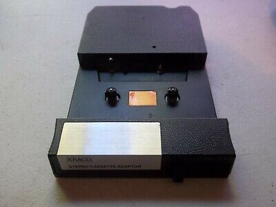Vintage KRACO Stereo Cassette Adapter for 8 Track Tape Player (Model KCA-8)