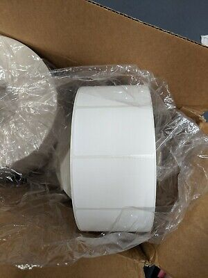 ULINE DIRECT THERMAL Labels S-8001 (2 Boxes 12 Rolls in ea