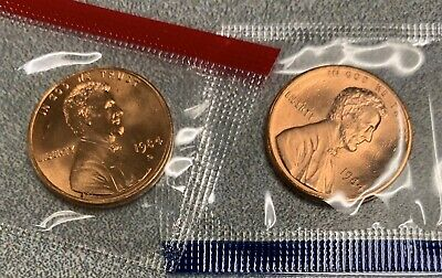1984 P & D Lincoln Memorial Cent / Penny Set *MINT CELLO*  **FREE SHIPPING**