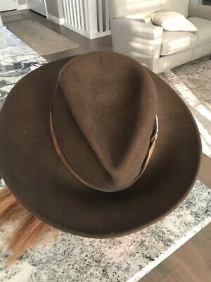 c7c0cd0a7 STETSON WATER REPELLENT Crushable Hat PALMER Olive Mix Color Size XL ...