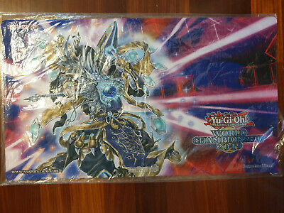 Yugioh World Championship 2019 PLAYMAT SEALED *PRESELL* SHIPS 15/08