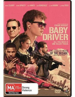 Baby Driver- Ansel Elgort, Lily James- Region 4, mint