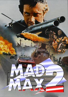 MAD MAX II (The Road Warrior) (BLU-RAY) With Mel Gibson  DISC ONLY