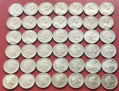 1966 - 2018 Australian 20 Cent Coin Set - 40 Coins