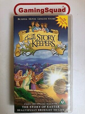 The Easter Story Keepers VHS Video Retro, Supplied by Gaming Squad