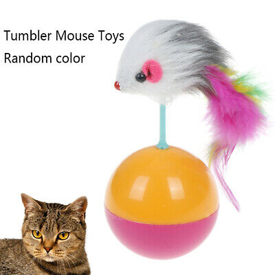 Funny Pet Toy Tumbler Mouse Toys for Cats Kitties Pets Accessories Popular ^S