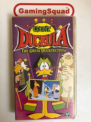 Count Duckula, The Great Ducktective VHS Video Retro, Supplied by Gaming Squad