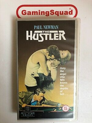 The Hustler (CBS) VHS Video Retro, Supplied by Gaming Squad