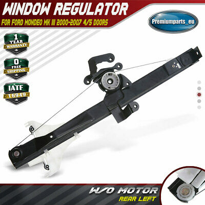 COMPLETE ELECTRIC WINDOW REGULATOR REAR RIGHT FOR FORD MONDEO MK3 III 2000-2007