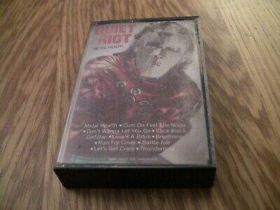 Metal Health by Quiet Riot (Cassette, Jul-1986, Legacy Records)