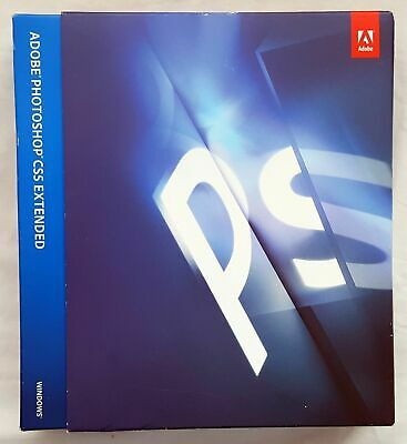 Adobe Photoshop CS5 Extended Windows deutsch Vollversion Mwst BOX RETAIL