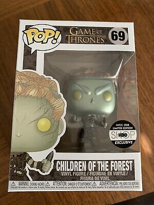 Funko Pop Game Of Thrones Children Of The Forest Metallic HBO Excl Protector