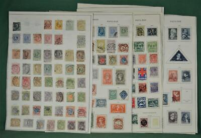 Netherlands Stamps Good Selection Of Early Issues On 12 Pages  (R71)