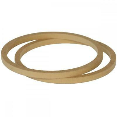 """8"""" 200mm Pair of MDF Speaker Spacer Mounting Rings 12mm Thick ID 182mm ED 202mm"""